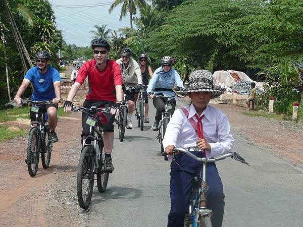Cycling vacation to Indochina and Angkor Wat