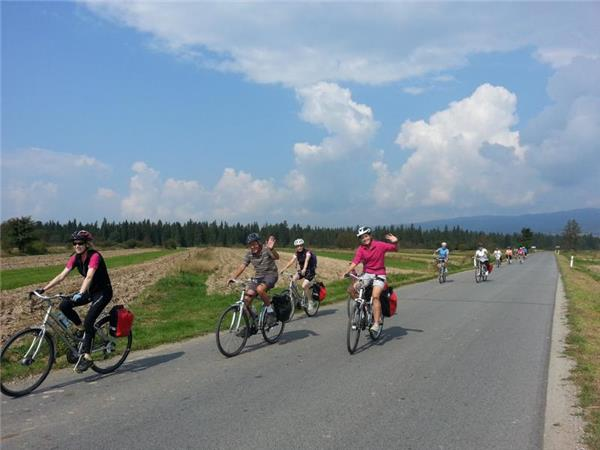 Cycling vacation in Poland