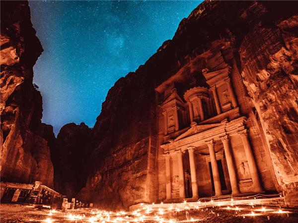 Jordan family vacation, The Lost City of Petra
