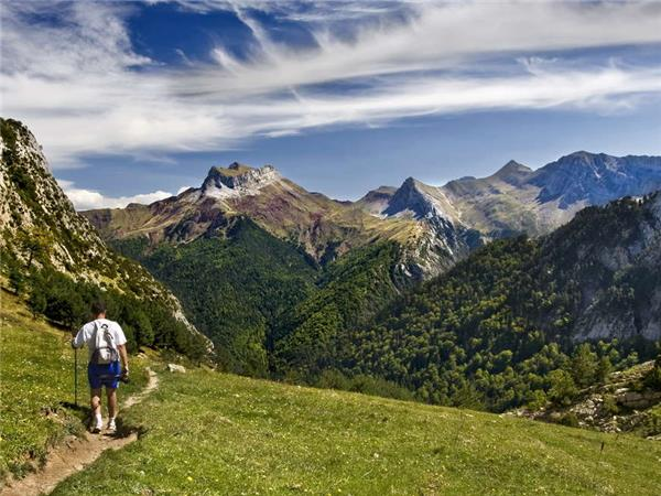Pyrenees walking vacation in Andorra