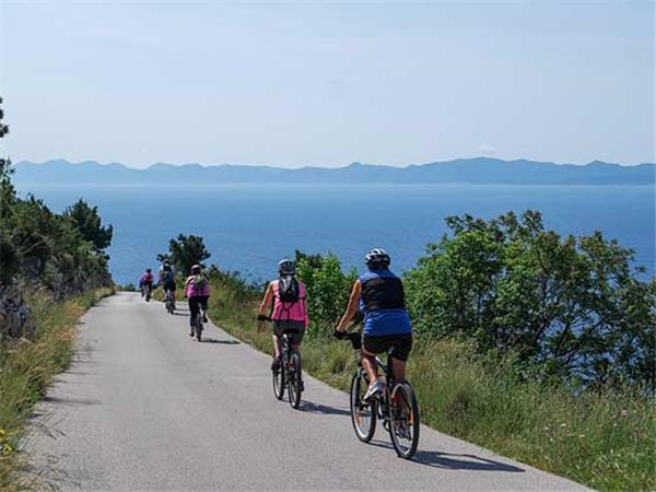 Cycling vacation in Croatia, Dalmatian Coast
