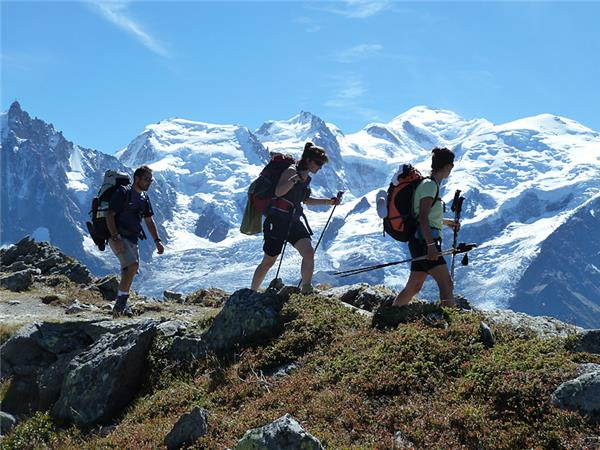 Mont Blanc Circuit classic hiking tour, 8 days