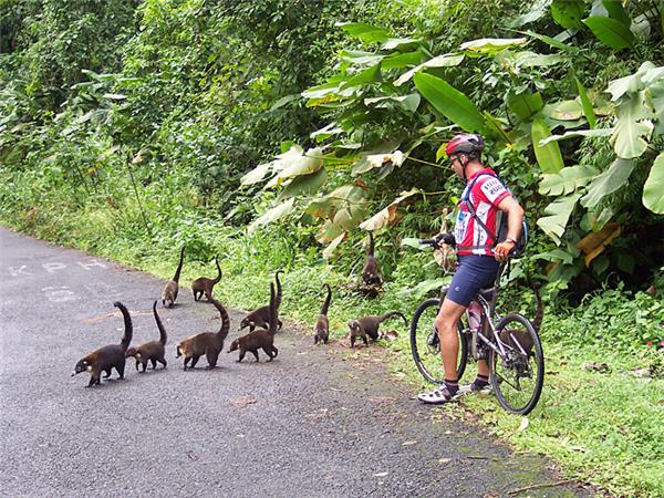 Coast to coast cycling vacation in Costa Rica