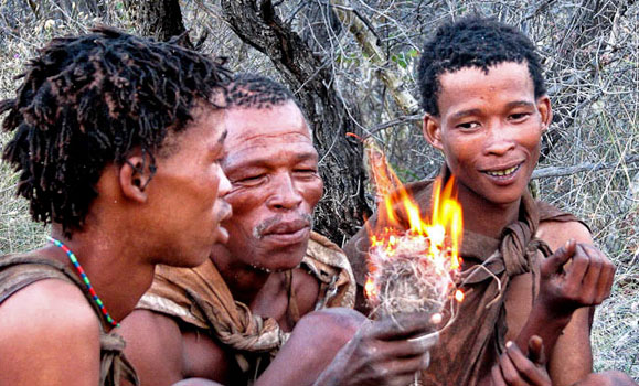 San bushmen, Botswwana. Photo by Sunway Safaris