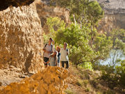 Bushwalking in Murraylands, South Australia. Photo by South Australia Tourist Board