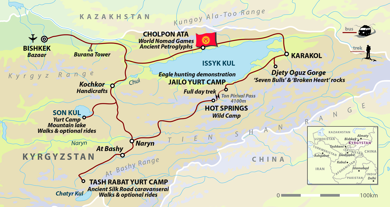 Kyrgyzstan tour world nomad games sep 2018 helping dreamers do map publicscrutiny Gallery