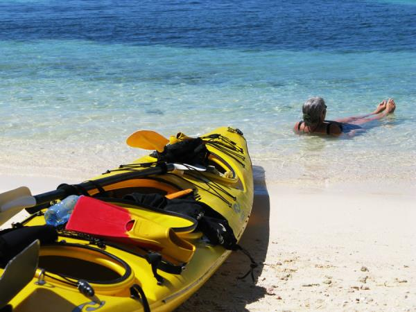 Belize sea kayaking vacation