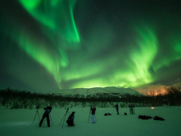 New Year's vacation in Sweden, Arctic Auroras