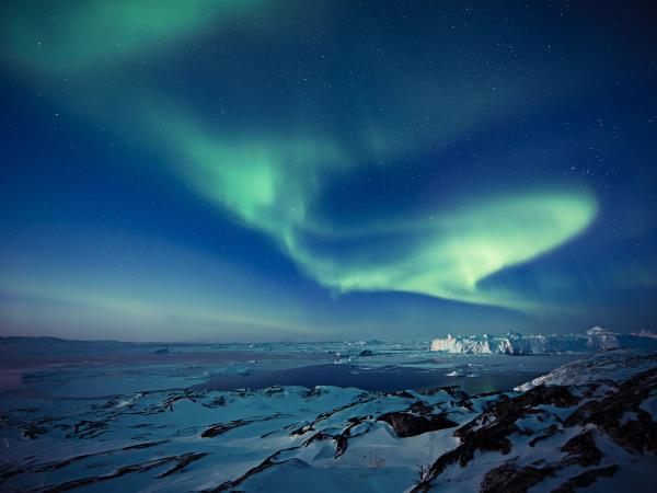 Greenland northern lights adventure vacation