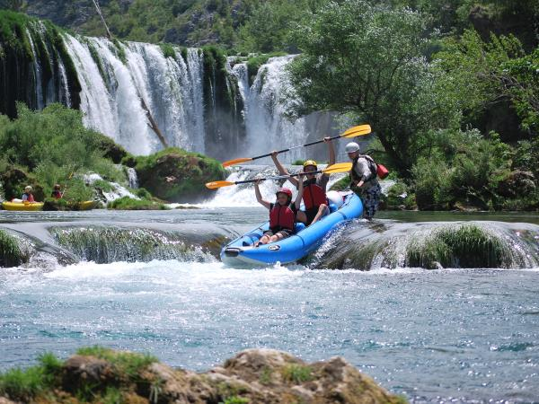 Plitvice Lakes family activity vacation in Croatia