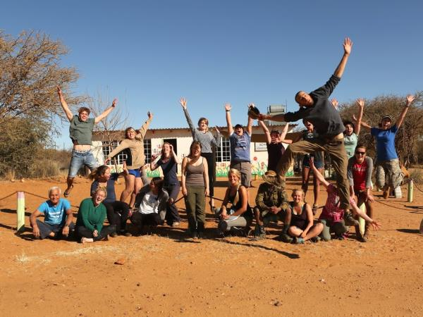 Namibia wildlife sanctuary volunteering holiday