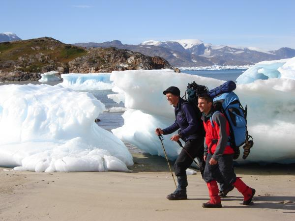 Greenland hiking vacation, The Iceberg trail