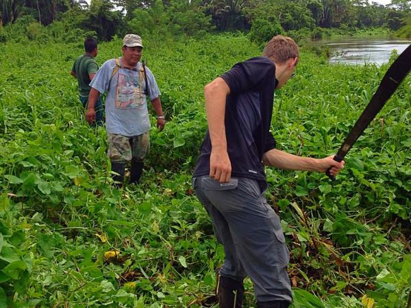 Conservation volunteering in Belize
