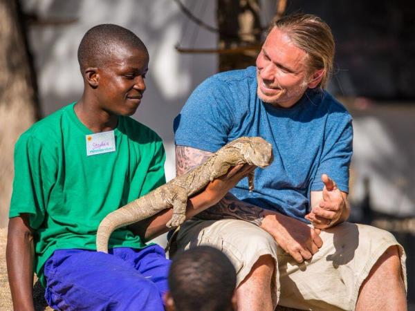 Wildlife orphanage volunteering in South Africa
