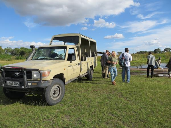 Camping safari in Southern Africa