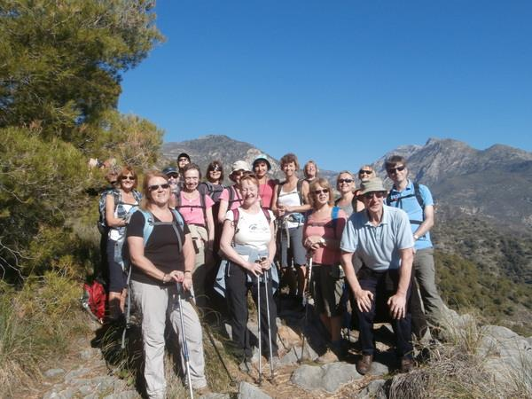 Your own group walking tours in Andalucia, Spain