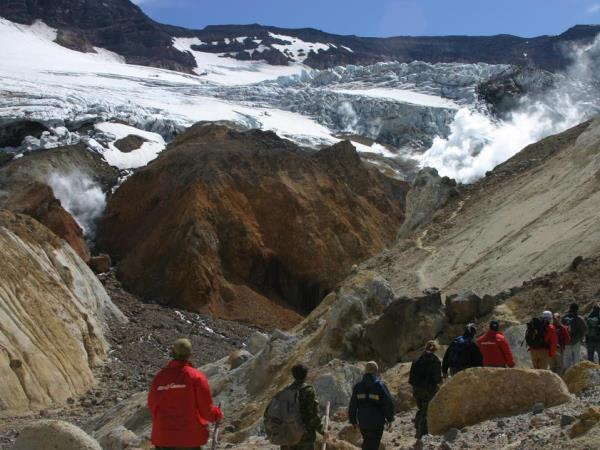Kamchatka vacations, small group tour