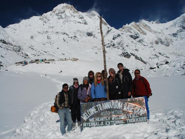 Annapurna Sanctuary and Base Camp trek, Nepal