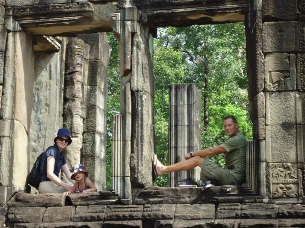 Exciting family vacation in Cambodia