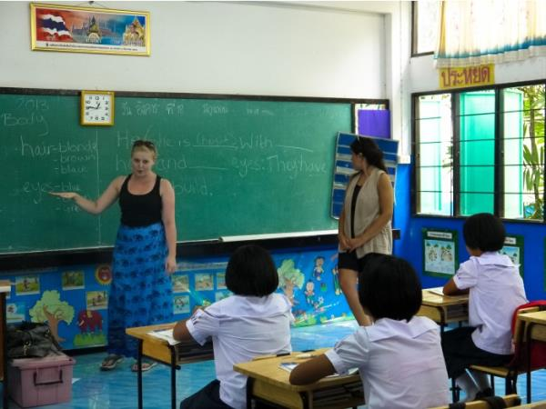 Teaching in Thailand