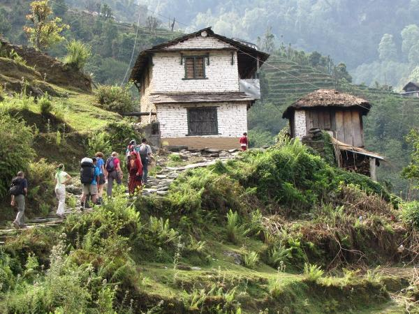 Nepal vacation, encompassed
