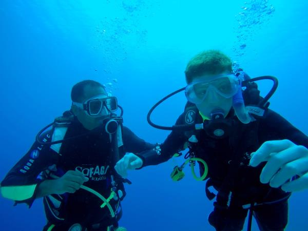 Learn to scuba dive in the Red Sea