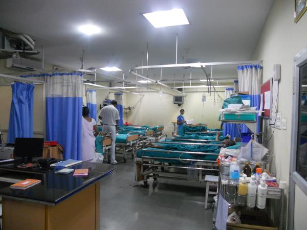 Medical work experience in Madurai, India