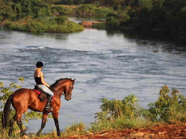 Horse riding safari in Uganda