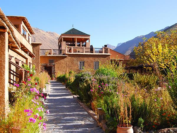 Kasbah du Toubkal in the Atlas Mountains