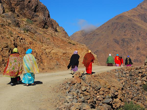 Luxury trekking vacation in the Atlas Mountains