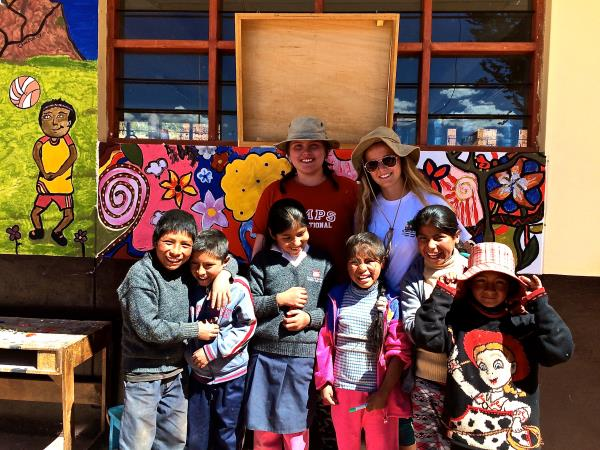 Community volunteering projects, Ecuador and Peru