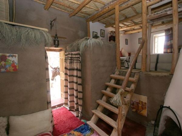 Atlas Mountains accommodation nr Imlil, Morocco