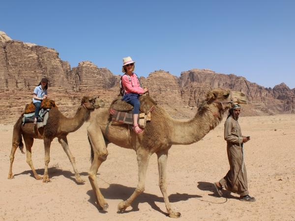 Exciting family vacation in Jordan
