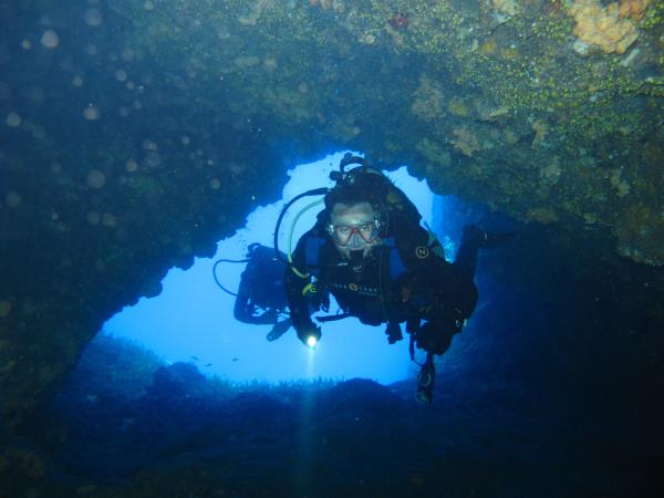 Liveaboard diving and sailing vacation in Greece