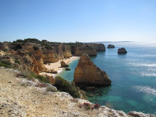 Algarve self guided hiking vacation, Portugal