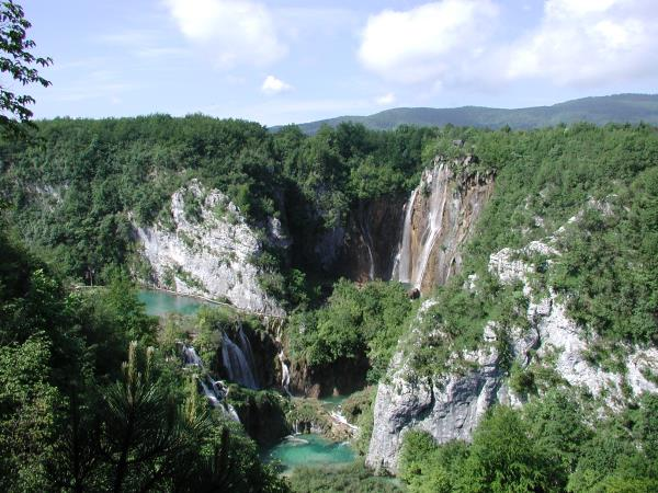 Croatia vacation, hiking in the National Parks