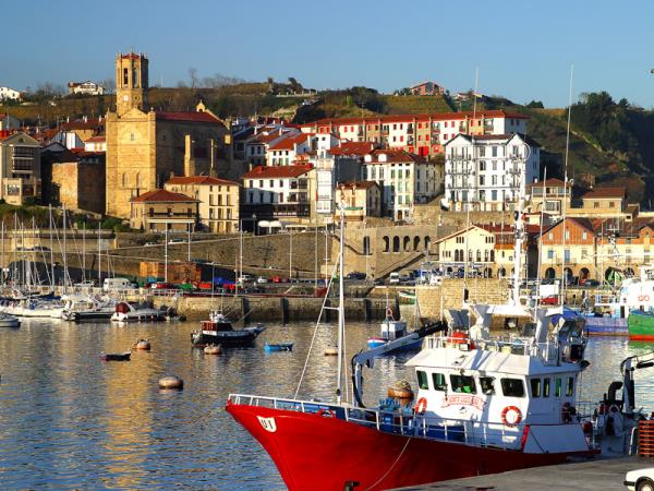 Basque Coast self-guided hiking & gastronomy vacation