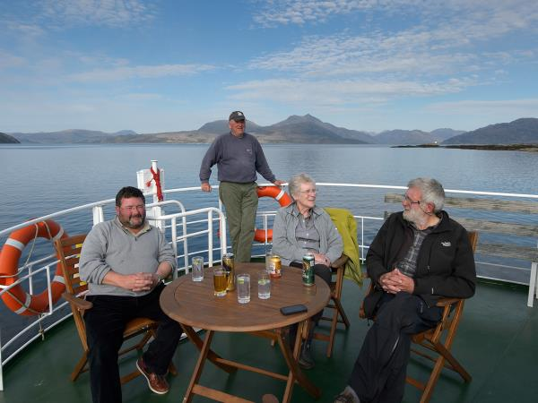 Isle of Mull cruise, Scotland