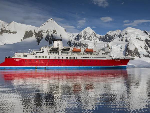 Antarctica vacation, spirit of Shackleton