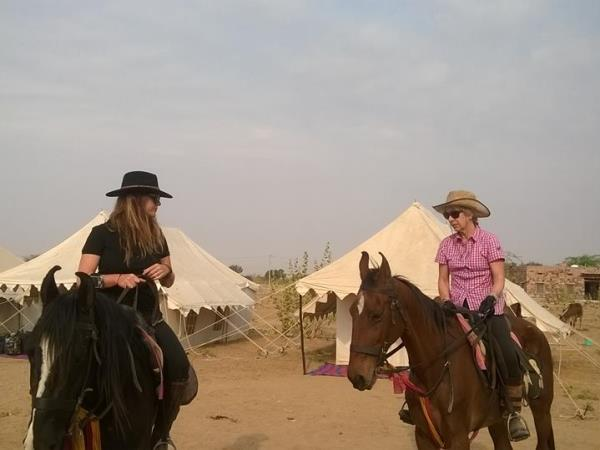 Horse riding tours in Rajasthan, India