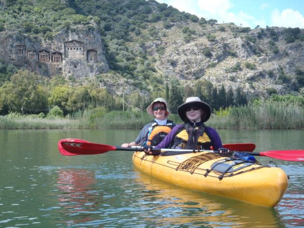 Sea kayaking holiday on the Turquoise coast