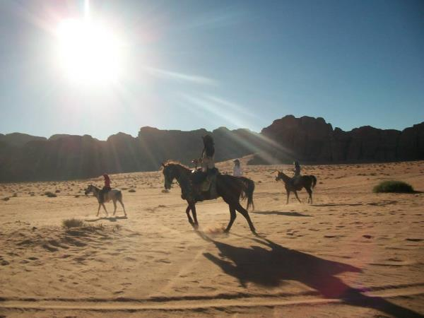Jordan horse riding vacation, Petra to Wadi Rum