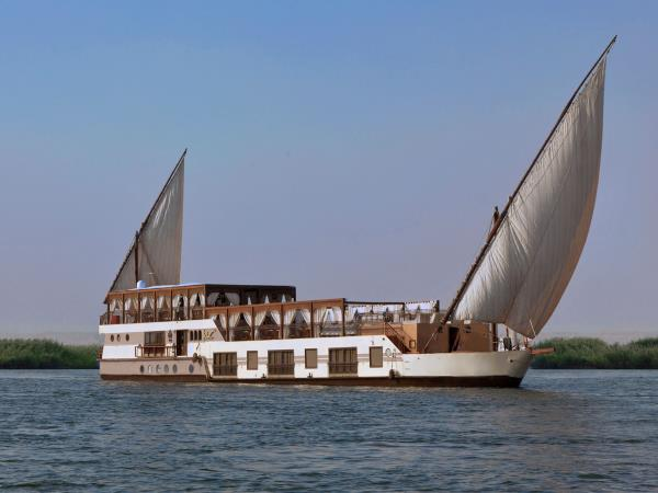 Nile traditional cruise of Egypt