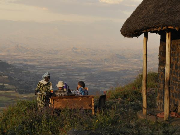 Ethiopia wildlife & walking vacation