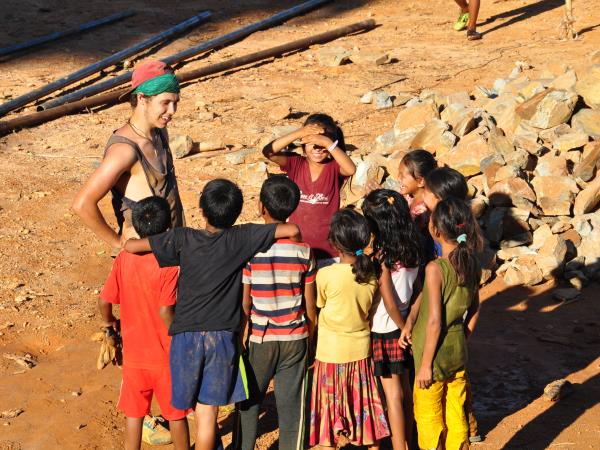 Family volunteering and adventure vacation, Nepal