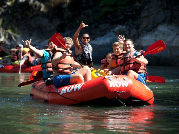 Rogue River rafting holiday in the USA