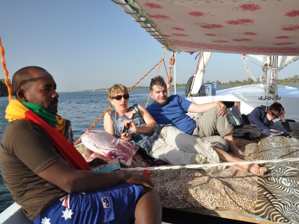 Nile cruise in Egypt for families