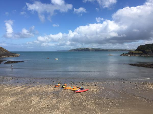 Sea kayaking vacation in Wales