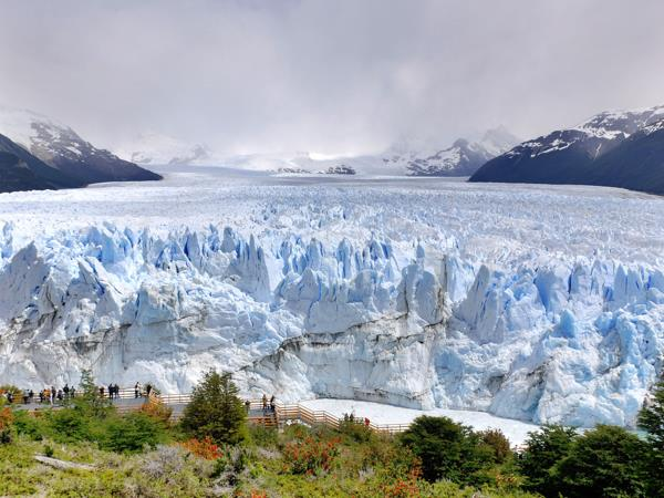 Patagonia family vacation, glacial lakes and mountains