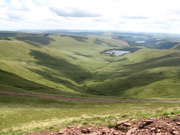 Breacon Beacons walking vacation, Wales